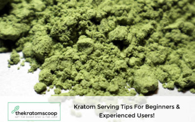 Kratom Serving Tips For Beginners & Experienced Users!